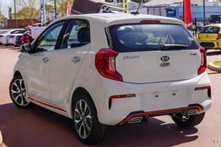 2020 Kia Picanto JA MY21 GT-Line White 4 Speed Automatic Hatchback