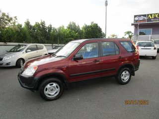 2003 Honda CR-V MY03 (4x4) Red 4 Speed Automatic Wagon