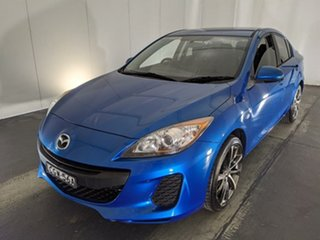 2012 Mazda 3 BL10F2 Neo Blue 6 Speed Manual Sedan.