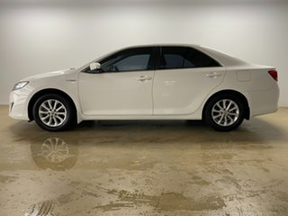 2013 Toyota Camry AVV50R Hybrid H White Continuous Variable Sedan