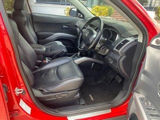 2007 Mitsubishi Outlander ZG MY07 VR-X Red 6 Speed Sports Automatic Wagon