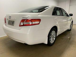 2010 Toyota Camry ACV40R 09 Upgrade Ateva White 5 Speed Automatic Sedan.