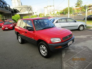 1997 Toyota RAV4 (4x4) Red 4 Speed Automatic 4x4 Wagon.