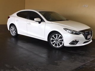 2015 Mazda 3 BM MY15 SP25 GT White 6 Speed Automatic Sedan