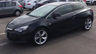 2015 Holden Astra PJ MY16 GTC Sport Black 6 Speed Automatic Hatchback