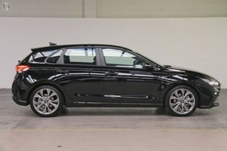 2020 Hyundai i30 PD.V4 MY21 N Line D-CT Phantom Black 7 Speed Sports Automatic Dual Clutch Hatchback.