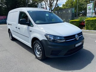 2016 Volkswagen Caddy 2KN MY16 TSI220 Maxi DSG White 7 Speed Sports Automatic Dual Clutch Van