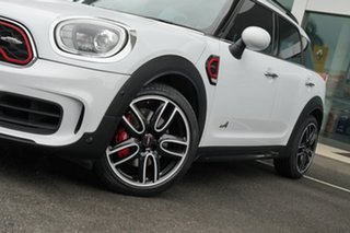 2018 Mini Countryman F60 MY19 John Cooper Works ALL4 Light White 8 Speed Automatic Wagon.