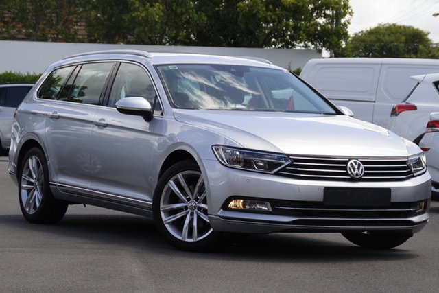 Used Volkswagen Passat 3C (B8) MY17 140TDI DSG Highline Mount Gravatt, 2017 Volkswagen Passat 3C (B8) MY17 140TDI DSG Highline Silver 6 Speed Sports Automatic Dual Clutch