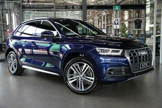 2018 Audi Q5 FY MY18 TDI S Tronic Quattro Ultra Sport Blue 7 Speed Sports Automatic Dual Clutch.