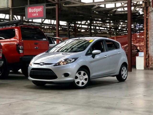 Used Ford Fiesta WT CL PwrShift Mile End South, 2012 Ford Fiesta WT CL PwrShift Silver 6 Speed Sports Automatic Dual Clutch Hatchback