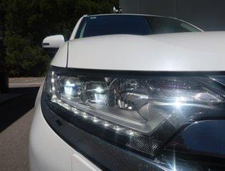 2017 Mitsubishi Outlander ZK MY18 PHEV AWD LS White 1 Speed Automatic Wagon Hybrid.