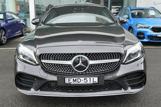 2018 Mercedes-Benz C300 205 MY19 Graphite Grey 9 Speed Automatic G-Tronic Coupe
