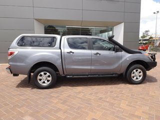 2013 Mazda BT-50 UP0YF1 XT Grey 6 Speed Manual Cab Chassis.