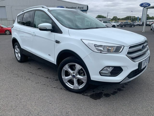 Used Ford Escape Epsom, 2019 Ford Escape Trend 2.0L D White Automatic SUV