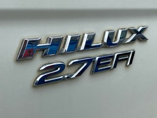 2003 Toyota Hilux RZN149R MY02 4x2 White 5 Speed Manual Utility