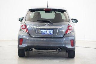 2016 Toyota Yaris NCP131R ZR Grey 4 Speed Automatic Hatchback