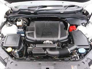 2016 Holden Commodore Vfii MY16 SV6 Black Edition White 6 Speed Automatic Sedan