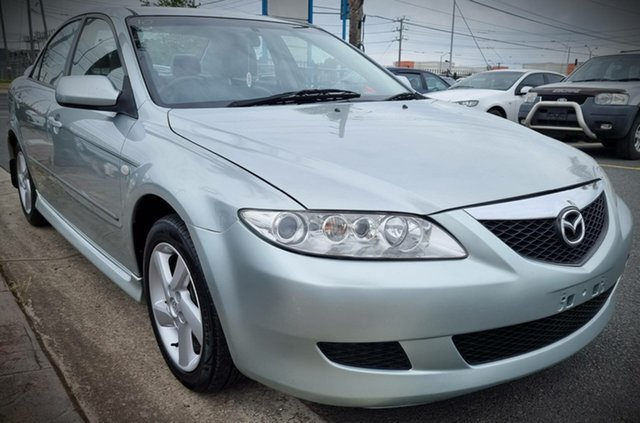 Used Mazda 6 GG1031 Classic Cheltenham, 2003 Mazda 6 GG1031 Classic Silver 4 Speed Sports Automatic Hatchback