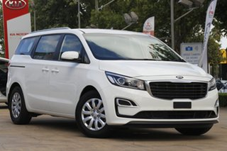 2019 Kia Carnival YP MY20 S White 8 Speed Sports Automatic Wagon.