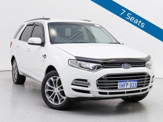 2012 Ford Territory SZ Titanium (4x4) White 6 Speed Automatic Wagon.