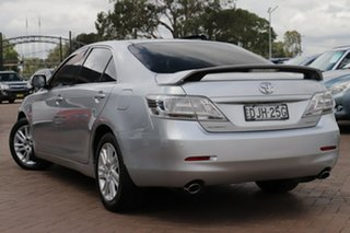2010 Toyota Aurion GSV40R MY10 AT-X Silver 6 Speed Sports Automatic Sedan.