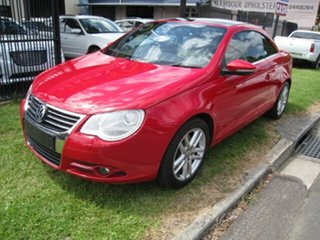 2010 Volkswagen EOS 1F MY10 155 TSI Red 6 Speed Direct Shift Convertible