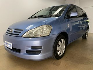 2008 Toyota Avensis ACM21R Verso GLX Blue 4 Speed Automatic Wagon