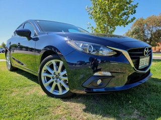 2015 Mazda 3 BM5436 SP25 SKYACTIV-MT Deep Crystal Blue 6 Speed Manual Hatchback.