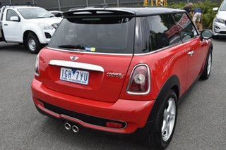 2009 Mini Hatch R56 Cooper S Red 6 Speed Manual Hatchback.