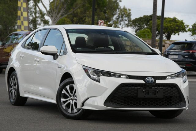 Used Toyota Corolla ZWE211R Ascent Sport E-CVT Hybrid North Lakes, 2019 Toyota Corolla ZWE211R Ascent Sport E-CVT Hybrid White 10 Speed Constant Variable Sedan Hybrid