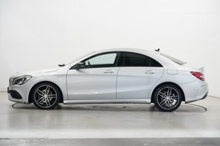 2017 Mercedes-Benz CLA-Class C117 808MY CLA200 DCT Silver 7 Speed Sports Automatic Dual Clutch Coupe.