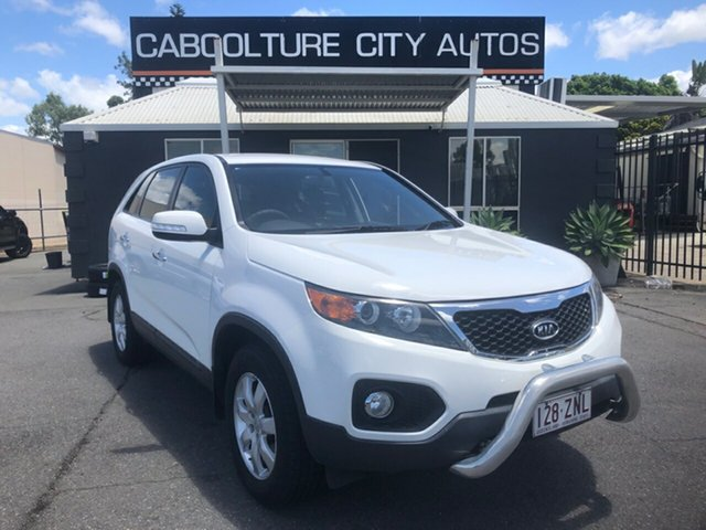 Used Kia Sorento XM MY11 SI (4x2) Morayfield, 2011 Kia Sorento XM MY11 SI (4x2) White 6 Speed Automatic Wagon