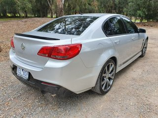 2015 Holden Commodore VF SV6 Lightning Silver Sports Automatic Sedan