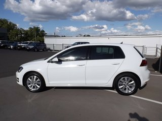 2017 Volkswagen Golf VII MY17 92TSI DSG Comfortline White 7 Speed Sports Automatic Dual Clutch