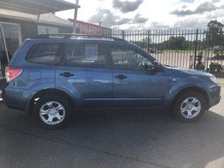 2009 Subaru Forester MY10 X Blue 4 Speed Auto Elec Sportshift Wagon.