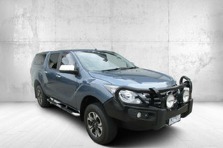 2018 Mazda BT-50 UR0YG1 GT Blue 6 Speed Sports Automatic Utility.