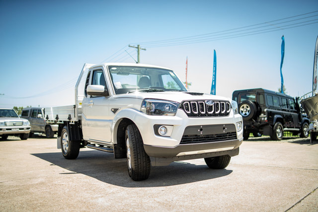 New Mahindra Pik-Up MY20 4WD S6+ Maitland, 2020 Mahindra Pik-Up MY20 4WD S6+ De-Sat Silver 6 Speed Manual Cab Chassis
