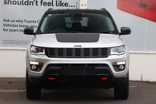 2018 Jeep Compass M6 MY18 Trailhawk Silver 9 Speed Automatic Wagon.