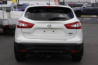 2015 Nissan Qashqai J11 TL White 1 Speed Constant Variable Wagon