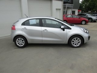2013 Kia Rio UB MY13 S Silver 4 Speed Sports Automatic Hatchback.