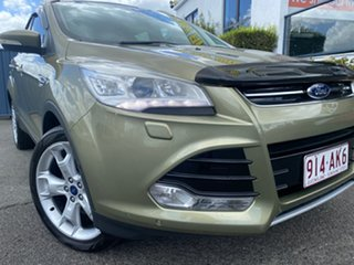 2013 Ford Kuga TF Titanium PwrShift AWD Bronze 6 Speed Sports Automatic Dual Clutch Wagon.
