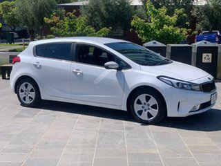2016 Kia Cerato YD MY17 S White 6 Speed Sports Automatic Hatchback