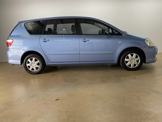 2008 Toyota Avensis ACM21R Verso GLX Blue 4 Speed Automatic Wagon.