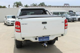 2015 Mitsubishi Triton MQ MY16 GLX Double Cab White 5 Speed Sports Automatic Utility
