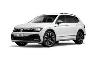 2020 Volkswagen Tiguan 162TSI Highline DSG 4MOTION Allspace Pure White 7 Speed.