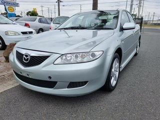 2003 Mazda 6 GG1031 Classic Silver 4 Speed Sports Automatic Hatchback.