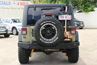 2013 Jeep Wrangler JK MY2013 Unlimited Sport Commando Green 5 Speed Automatic Softtop