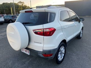 2015 Ford Ecosport BK Titanium PwrShift White 6 Speed Sports Automatic Dual Clutch Wagon.