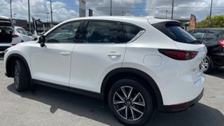 2018 Mazda CX-5 KF4WLA GT SKYACTIV-Drive i-ACTIV AWD White 6 Speed Sports Automatic Wagon
